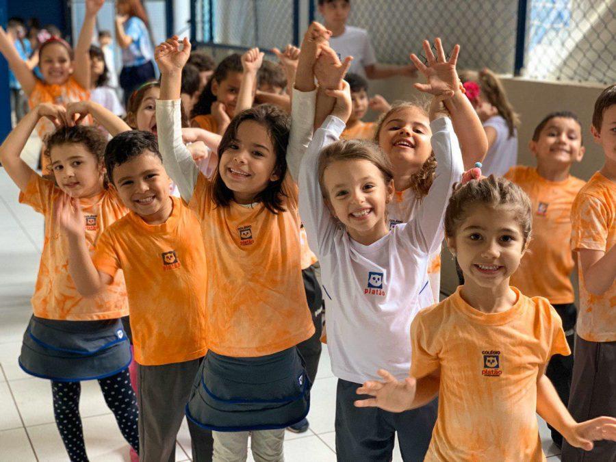 Semana da Criança no Colégio Platão tem programação variada e celebra a infância com muita alegria